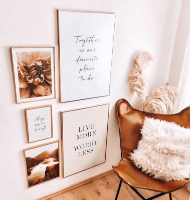 Bestselling posters gallery wall together poster golden frames