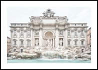 The Trevi Fountain Poster