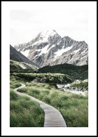 Trail to Mount Cook Poster
