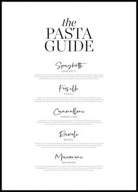 Pasta Guide Poster