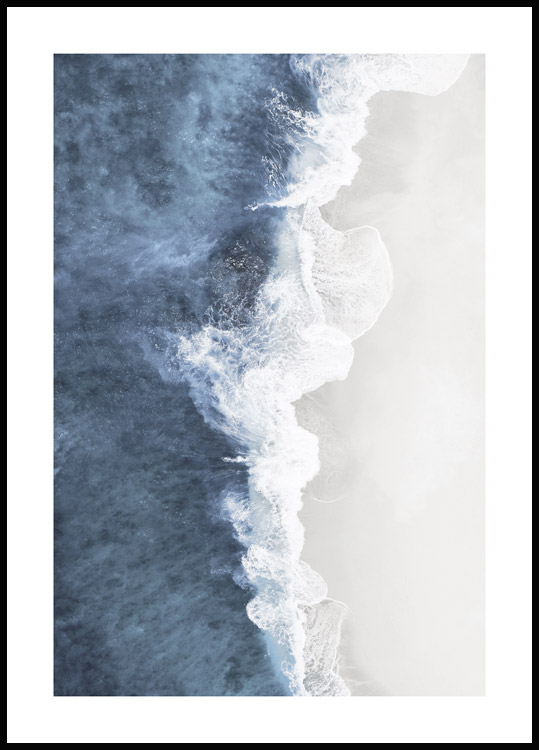 Wave Crush Poster